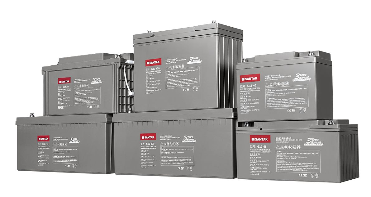 山特 G系列胶体电池-新品